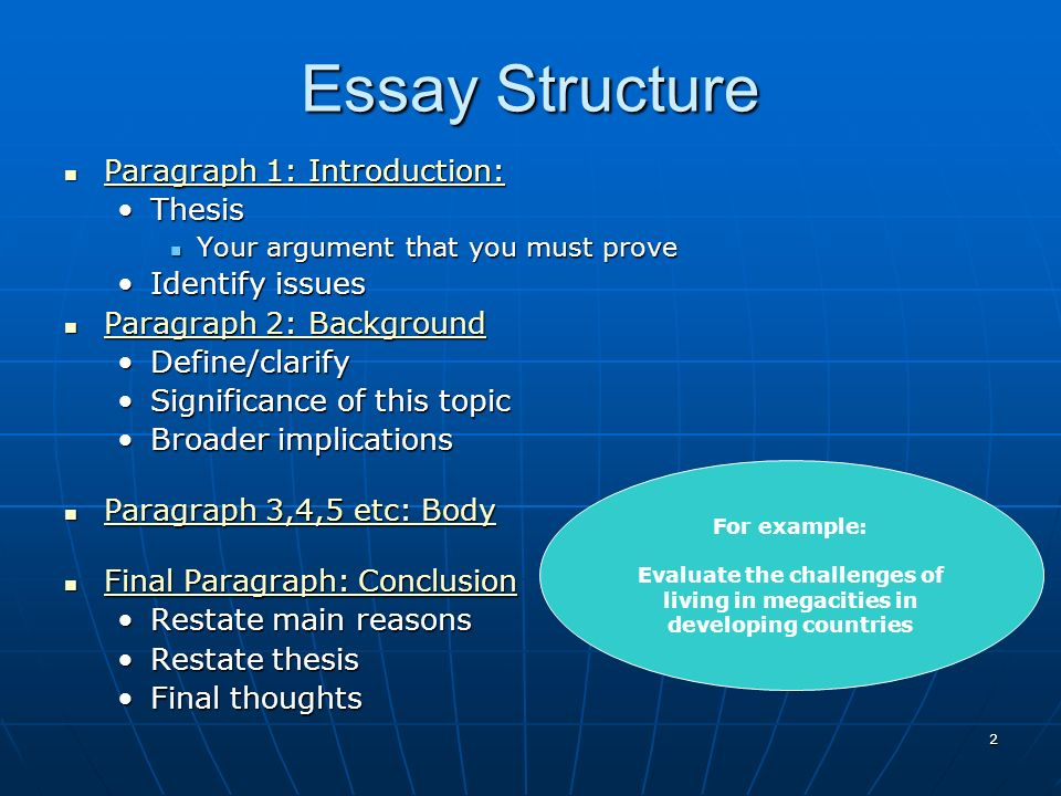 how to write geography essays   essay structure paragraph      essay structure paragraph   introduction  paragraph   introduction  paragraph