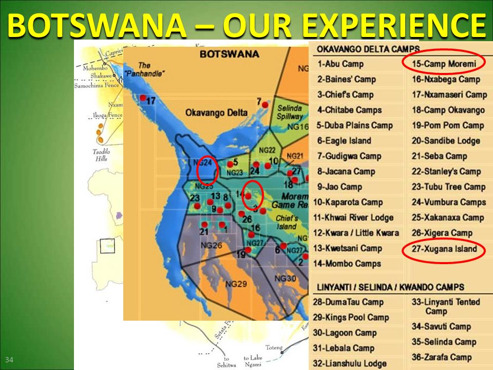 BOTSWANA – OUR EXPERIENCE 34