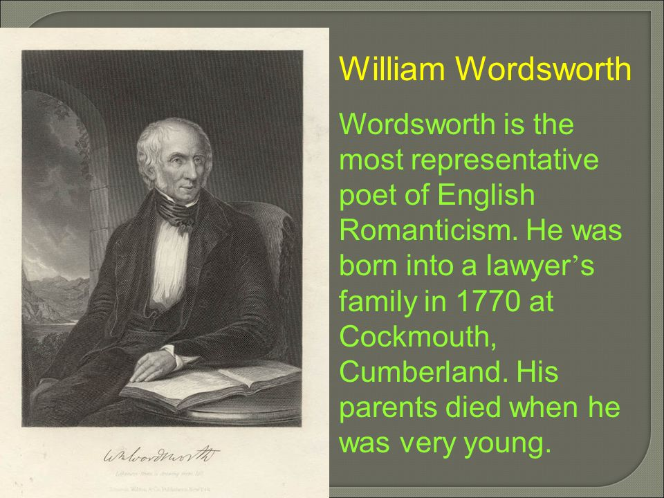 william wordsworth william blake