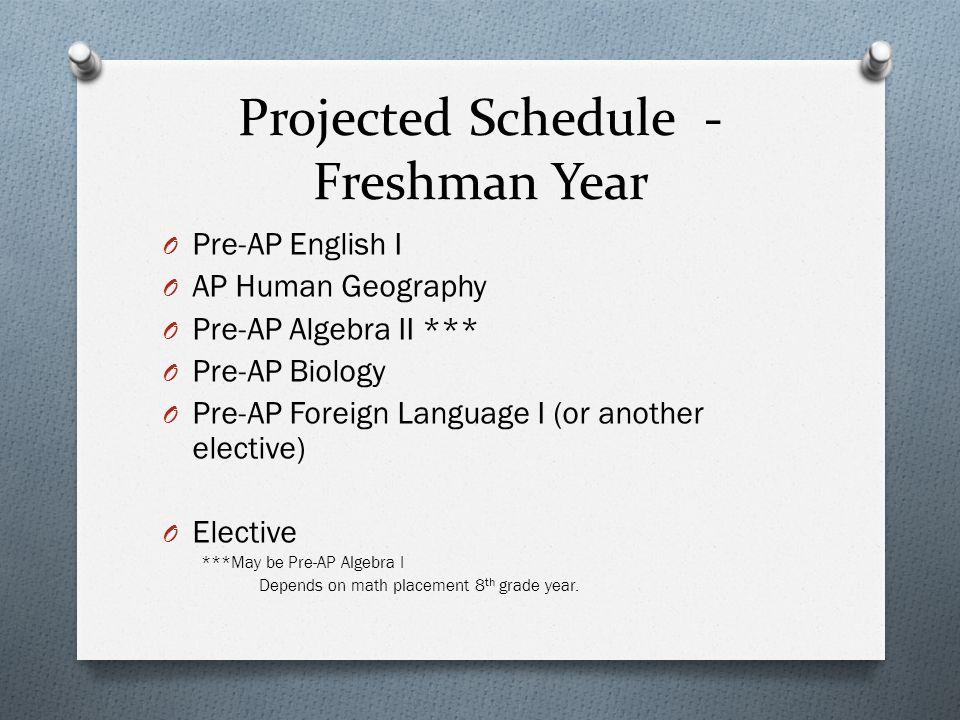 Freshmen year pre-ap language arts? Help!?