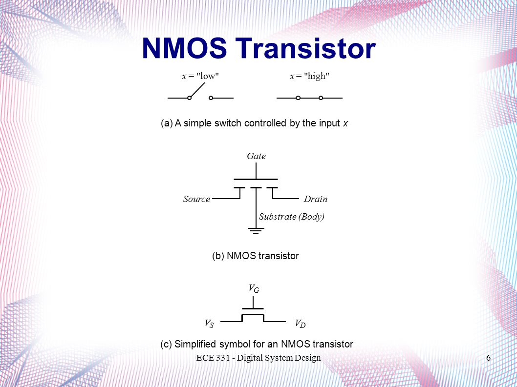 Ece 331 digital system design transistor technologies and 6 ece buycottarizona Image collections