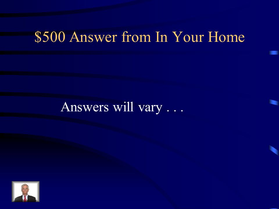 $500 Question from In Your Home Name 3 things ways you can practice electrical safety at home