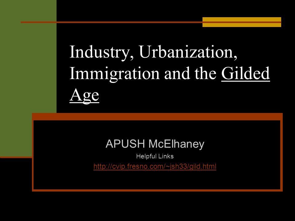 Essay Review - Gilded Age - YouTube