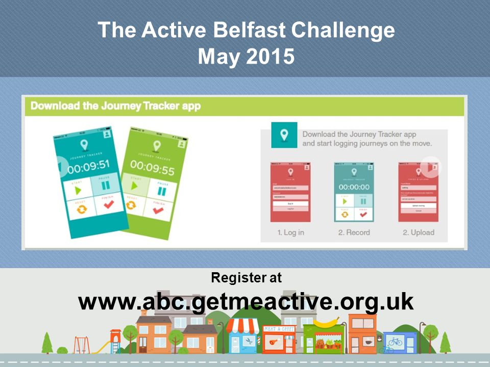 The Active Belfast Challenge May 2015 Register at