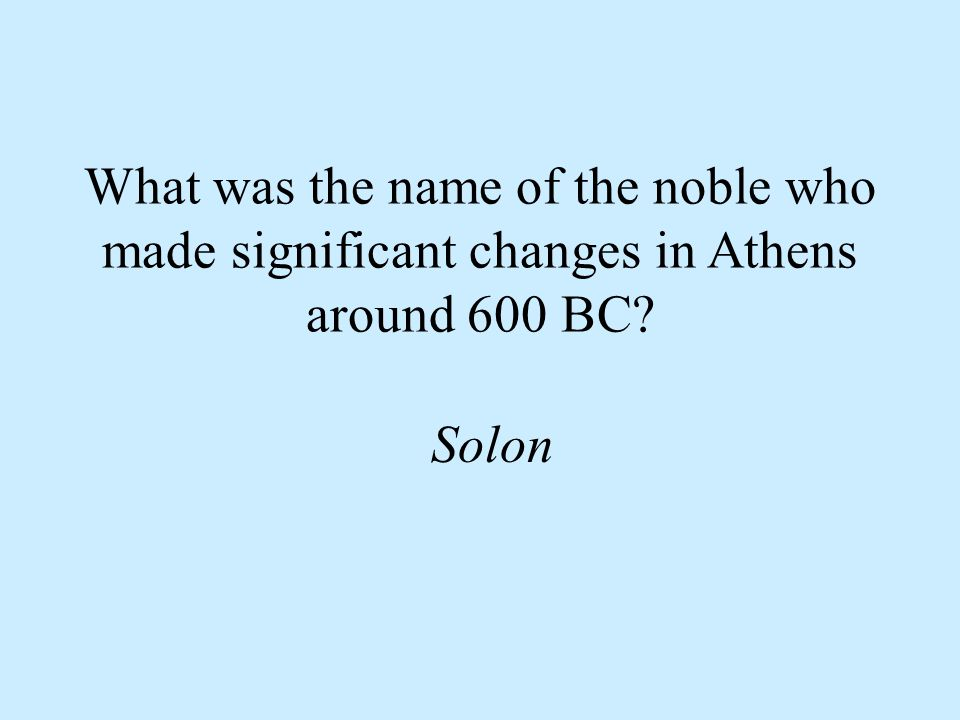 Why did some farmers become slaves in Athens They owed money to the nobles