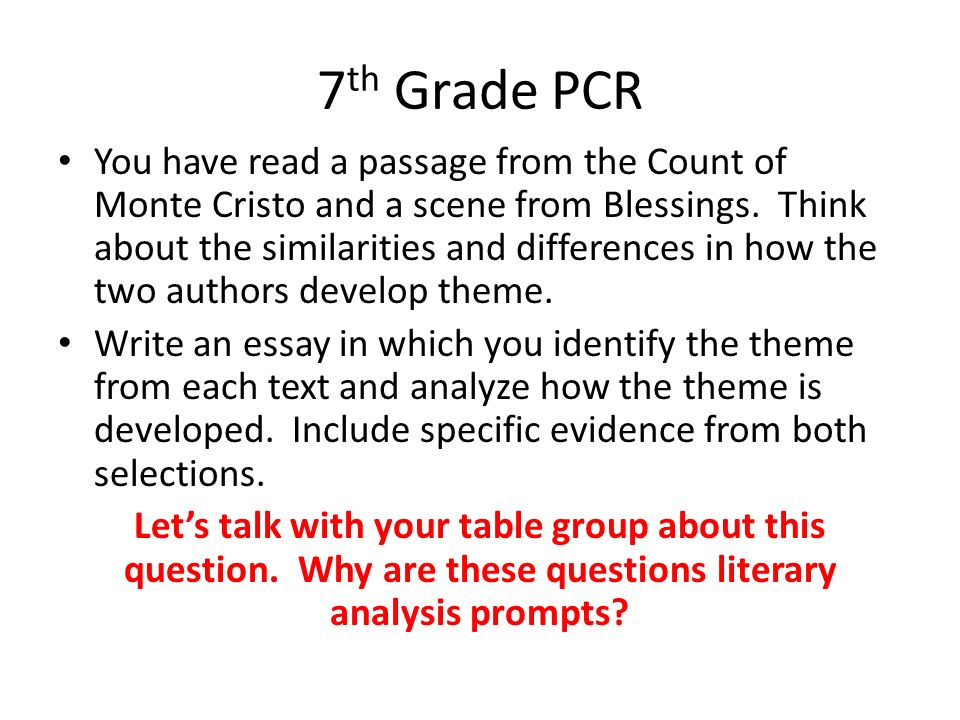 7th grade essay writing practice Oakland unified school district process writing assessment 7th grade persuasive writing: then you'll write a persuasive letter or essay supporting your point of.