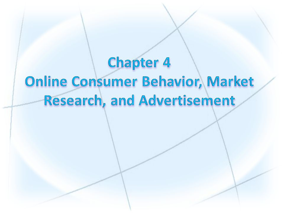 1.Understand the decision-making process of consumer purchasing online.