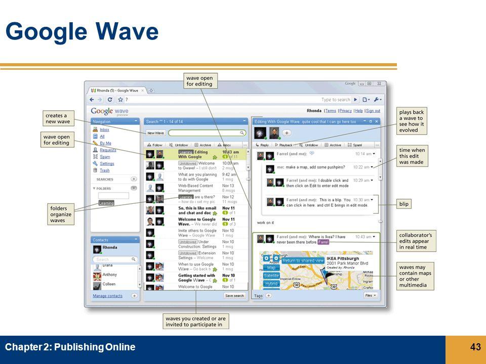 Google Wave Chapter 2: Publishing Online43