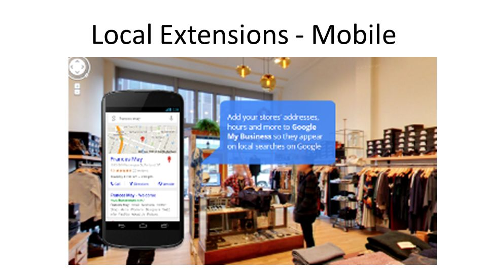 Local Extensions - Mobile