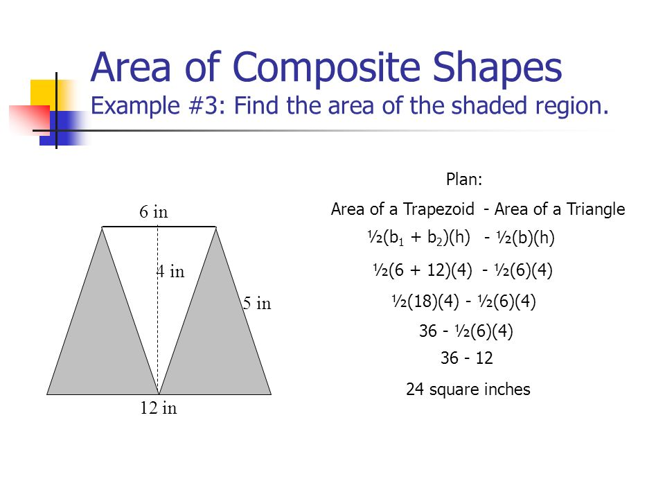 Area of composite shapes we are learning tofind the area of 5 area ccuart Choice Image