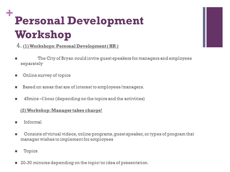 City of Bryan. + Training & Talent Development Program. - ppt download