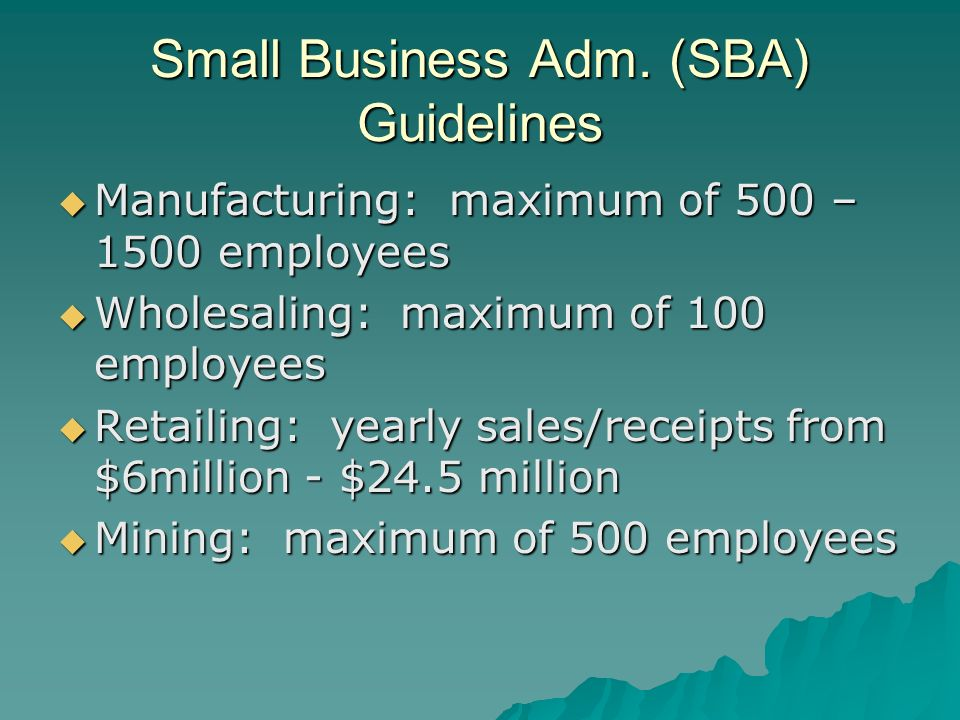 Small Business Adm.
