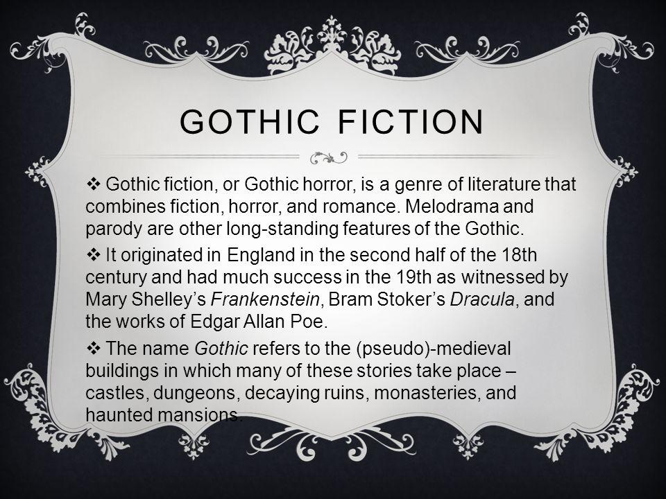 horror genre essay question
