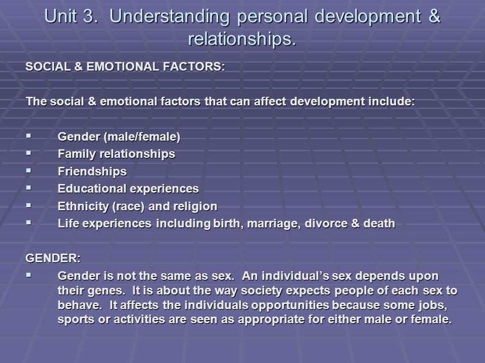 emotional factors sex parenting and same