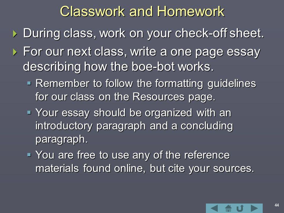 Descriptive essay example about college