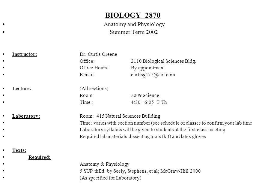 Fantastisch Anatomy And Physiology Seeley Ideen - Menschliche ...