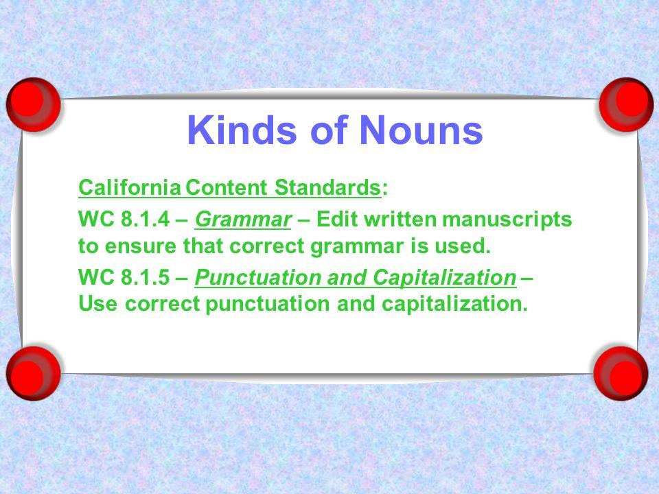 Edit grammar
