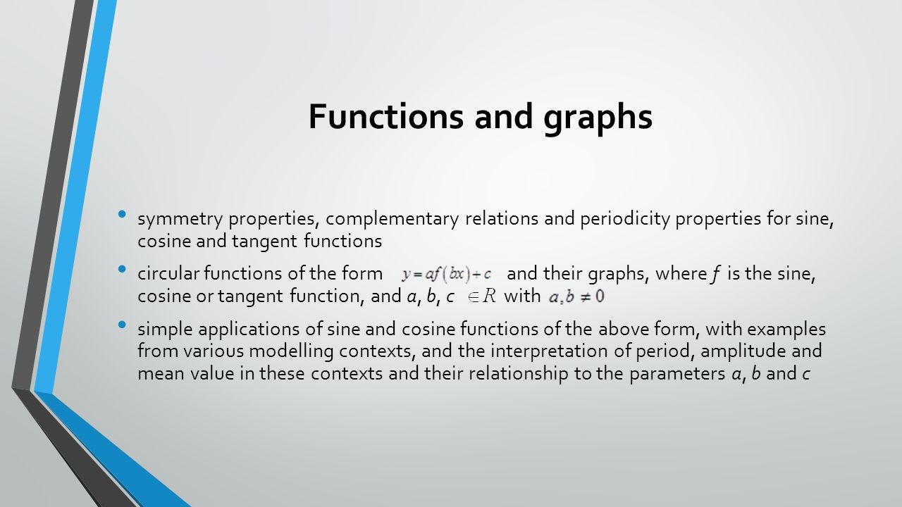 properties of sine and cosine functions