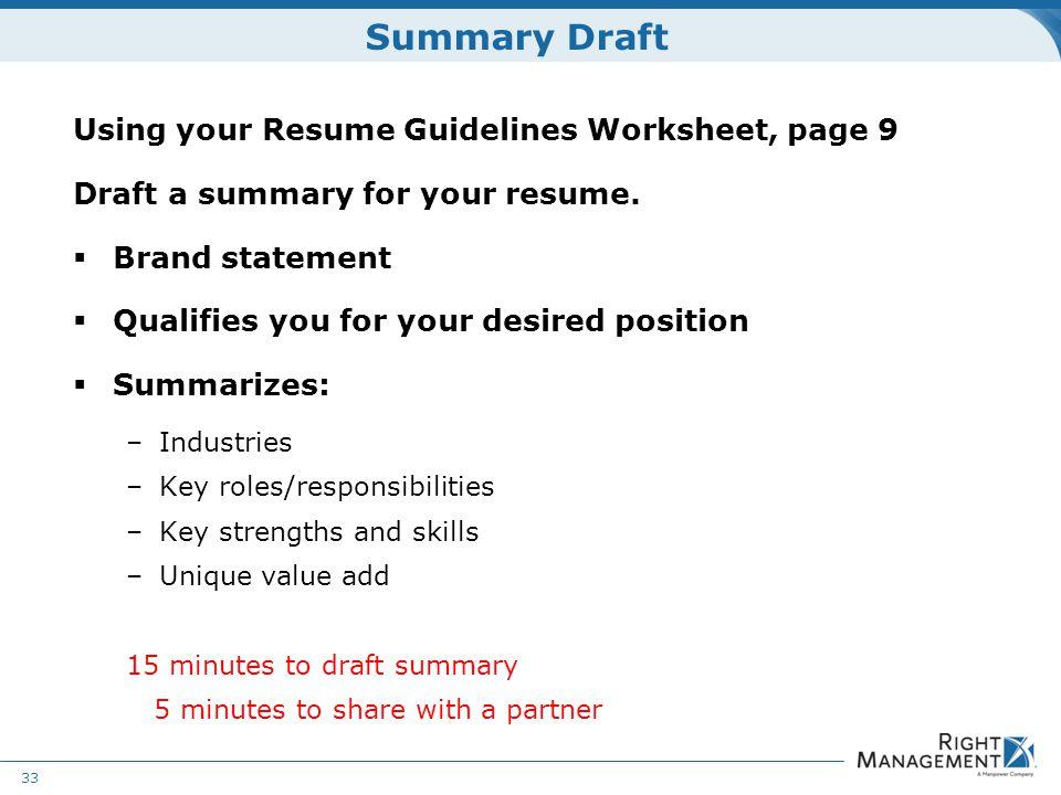 nursing draft resume