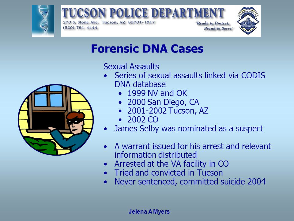 34 Forensic DNA Cases Sexual Assaults ...