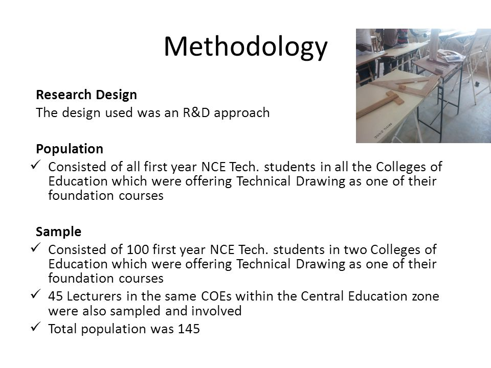 methodological research design Key concepts of the research methodology understanding the significance of the scientific method.