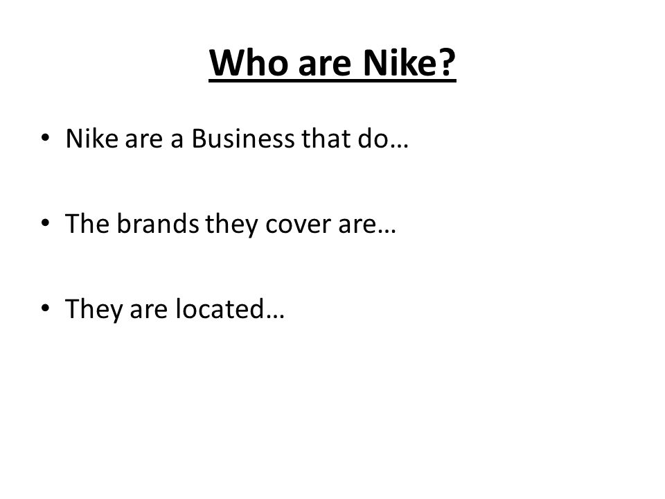 marketing mix of nike Having just completed a case study assignment, i thought i would try out my digital skills and put my essay into video i have followed nike since i can reme.