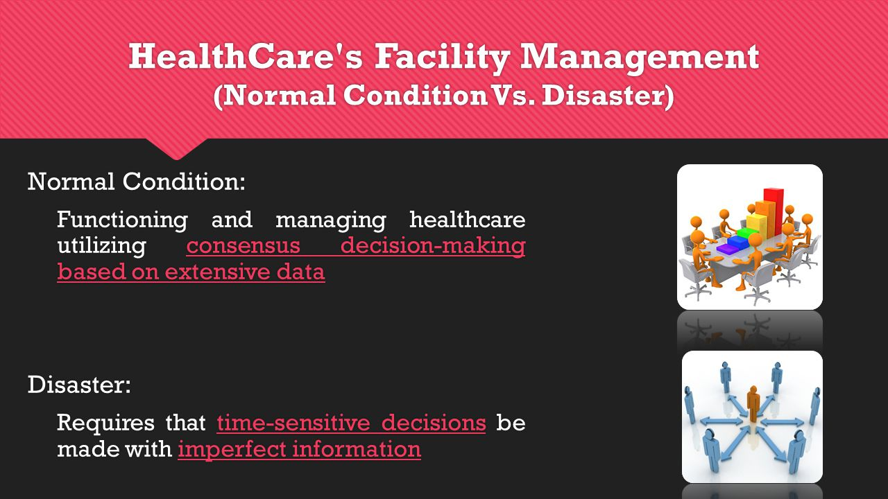 HealthCare s Facility Management (Normal Condition Vs.