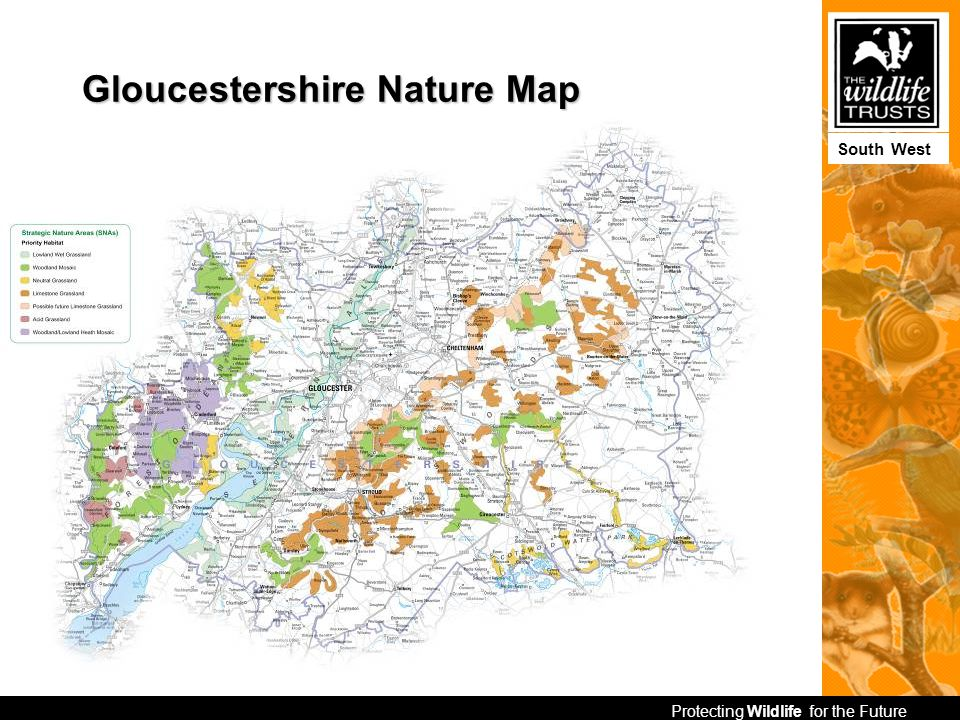 Protecting Wildlife for the Future South West Gloucestershire Nature Map