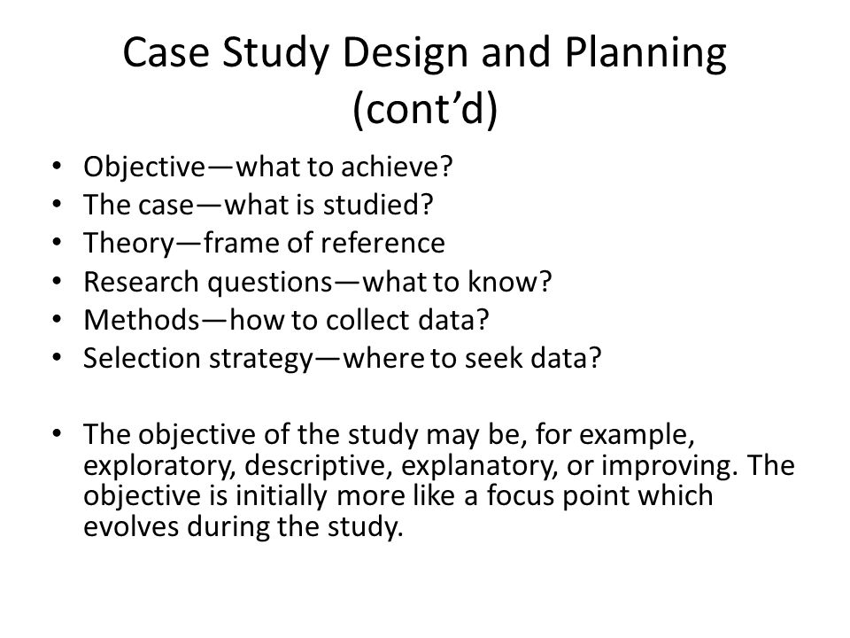 How to Do Case Study Research - ScholarWorks UMass