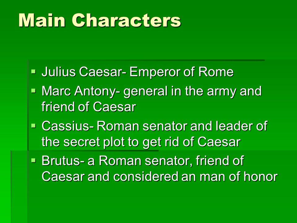 analysis of characters in the play julius caesar
