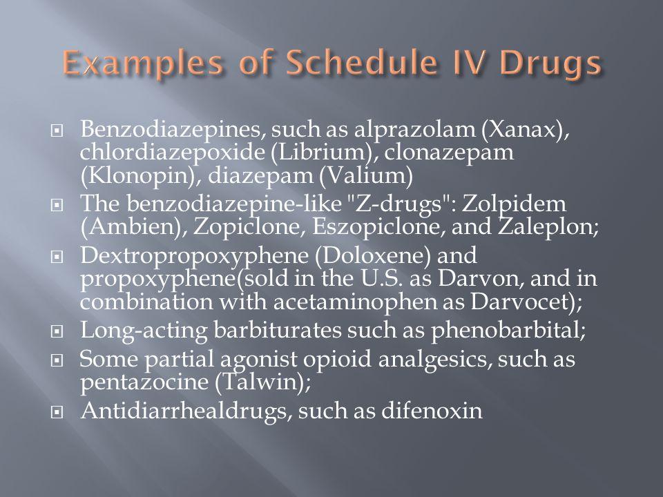 pregabalin schedule iv substance