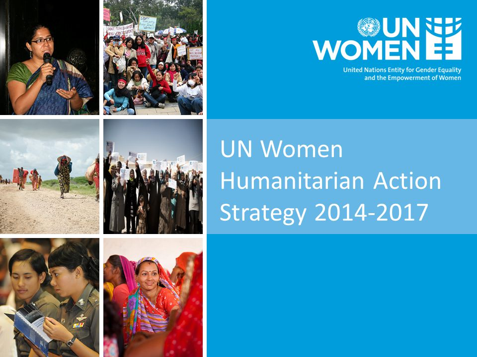 UN Women Humanitarian Action Strategy