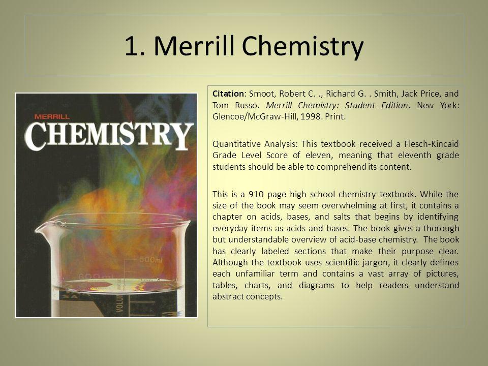 chemistry grade 11
