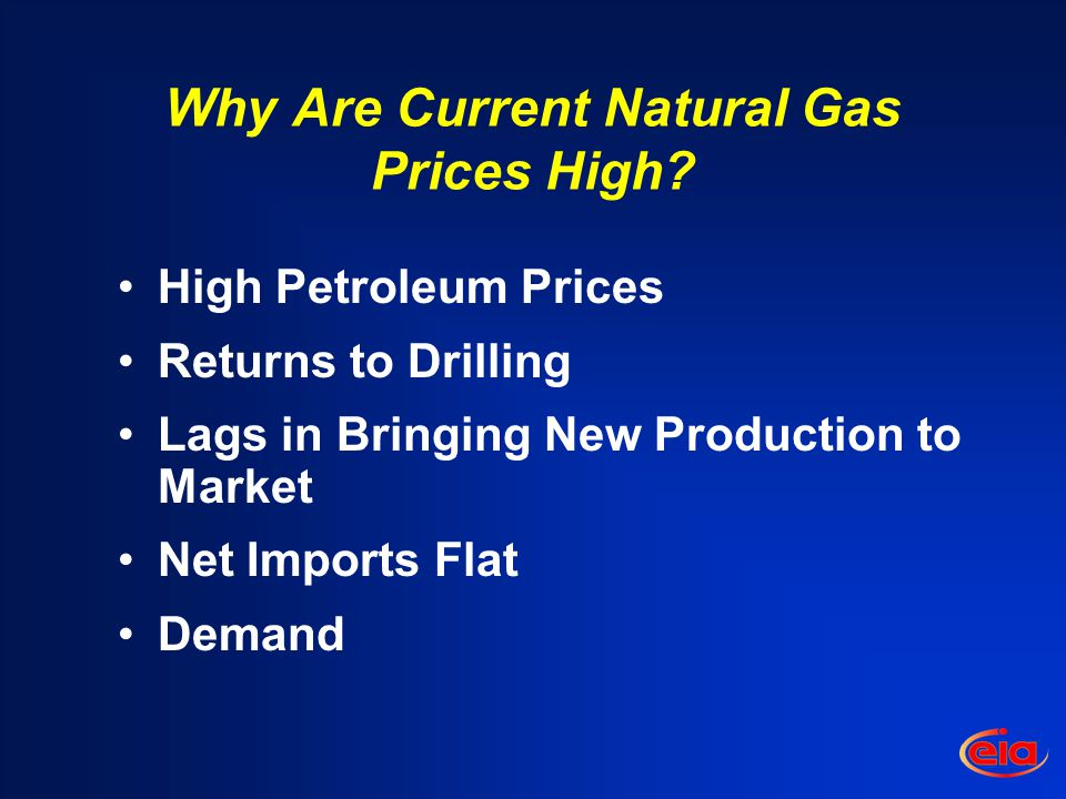 Why Are Current Natural Gas Prices High.