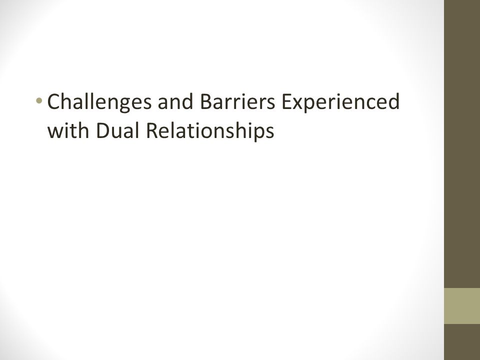 How do you do an ethical case study about dual relationships?