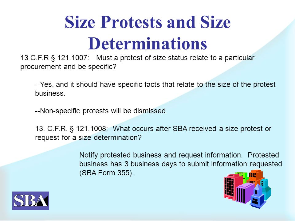 NAICS Solicitation Classifications & Size Protests. - ppt download