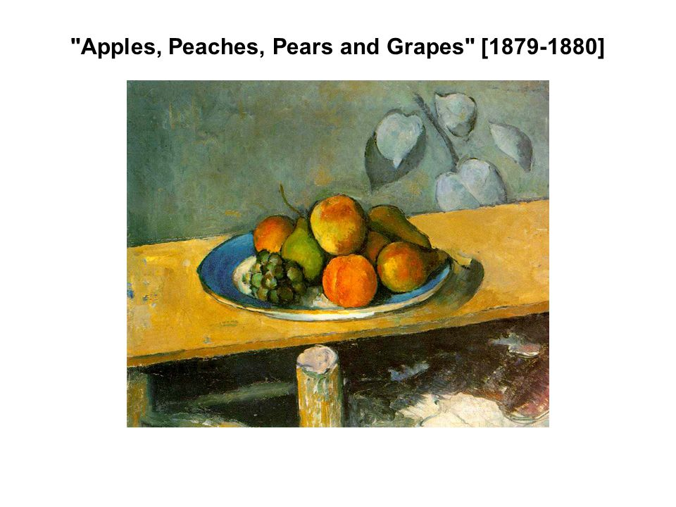 Apples, Peaches, Pears and Grapes [ ]