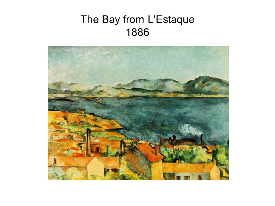 The Bay from L Estaque 1886