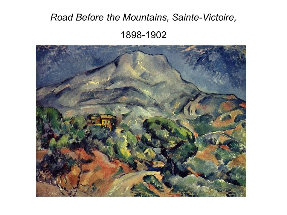 Road Before the Mountains, Sainte-Victoire,