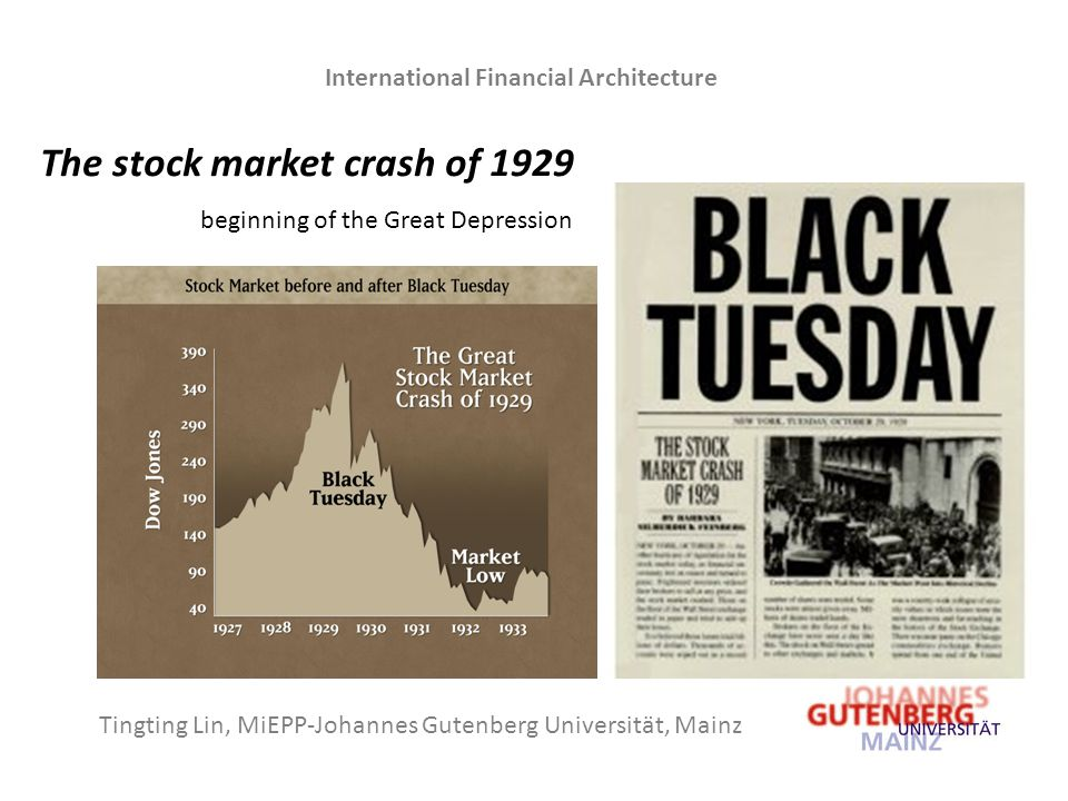black tuesday and the great depression