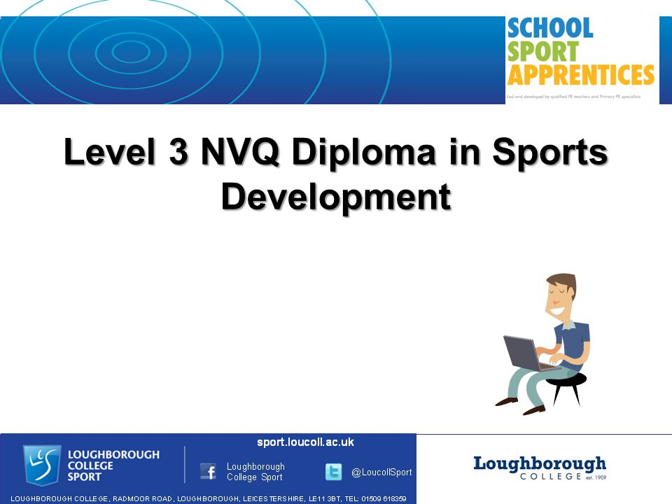 Level 3 NVQ Diploma in Sports Development
