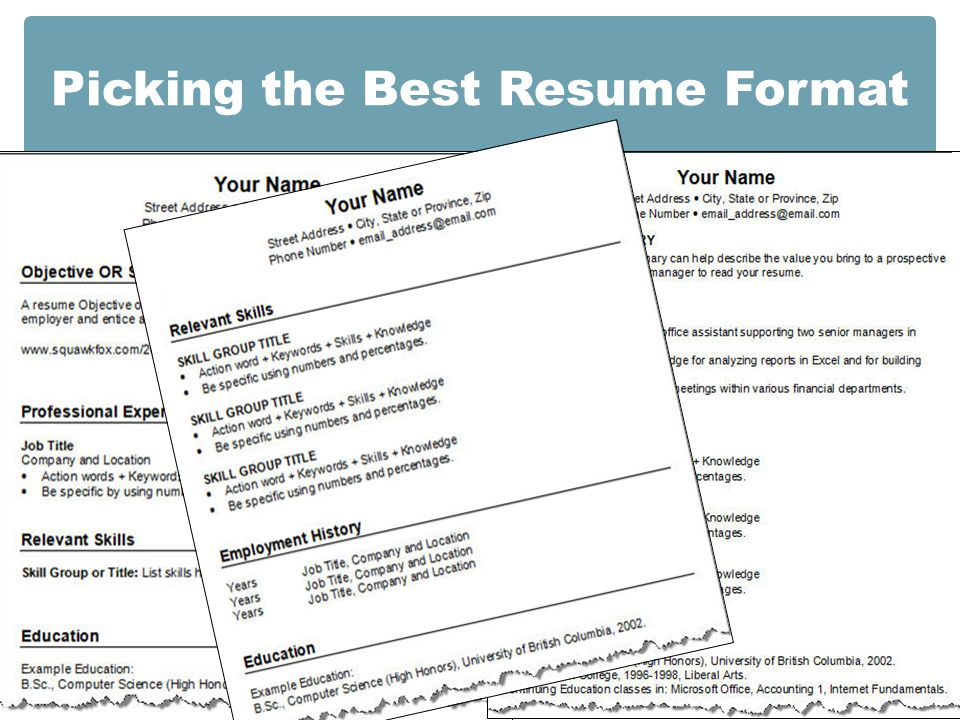 Resume Writing. The Resume - An important job search tool. PURPOSE ...