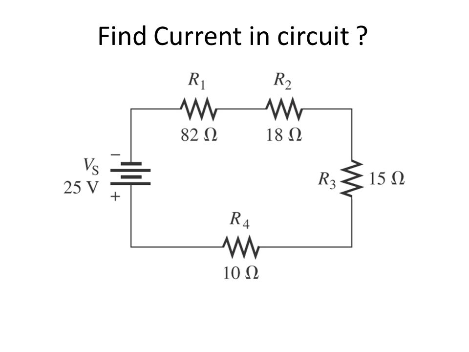 Find Current in circuit