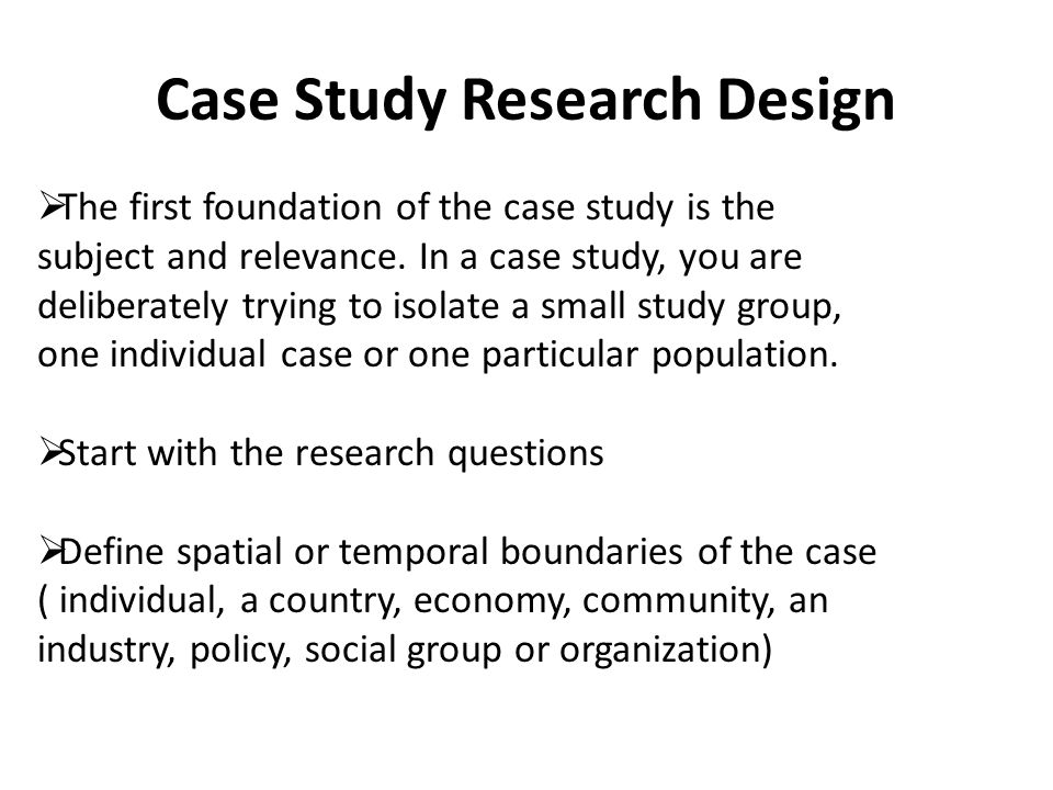 yin case study research questions