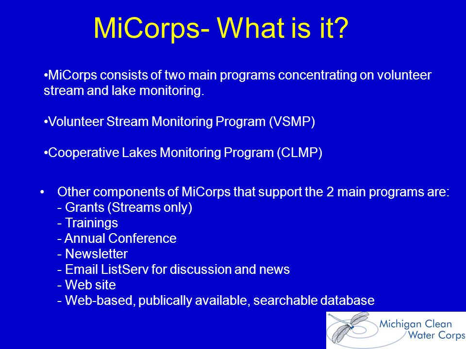 MiCorps- What is it.