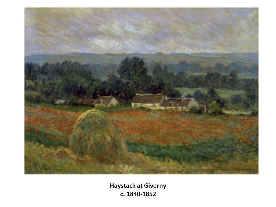 Haystack at Giverny c