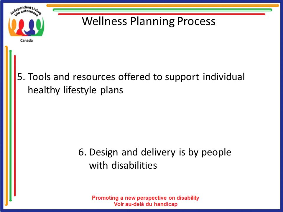 Wellness Planning Process 5.