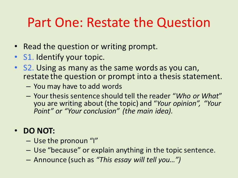 Essay help! (Not a revising question)?