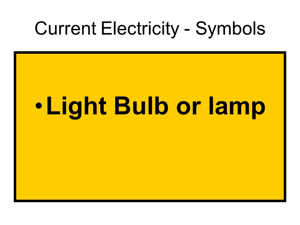 Light Bulb or lamp