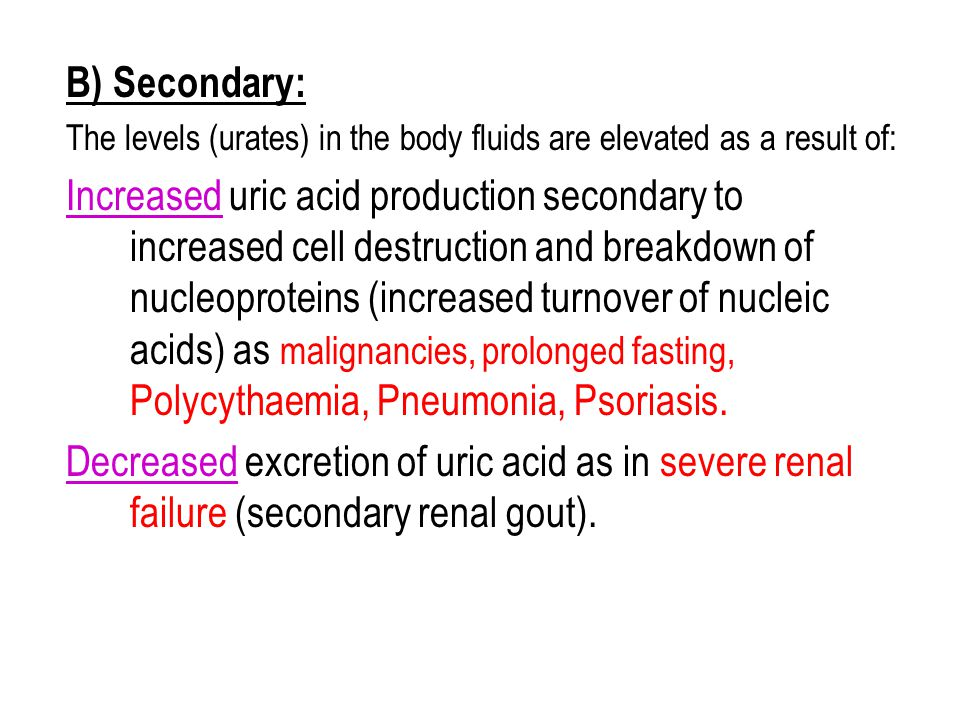 uric acid levels in gout foods to avoid for gouty arthritis what states test for uric acid in urine